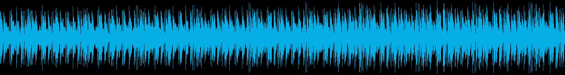 コミカルで軽快な日常系ジングルの再生済みの波形
