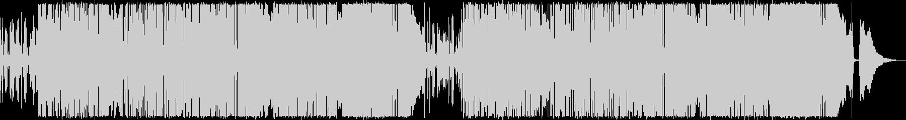 クリーンなHR/HM、ポストロック風の未再生の波形