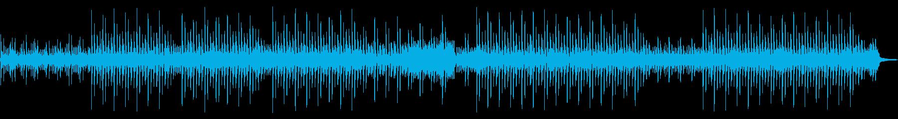 シンプルで無機質なエレクトロニカの再生済みの波形