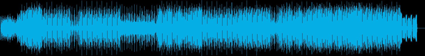 ダウンビートのレゲエトラックです。の再生済みの波形