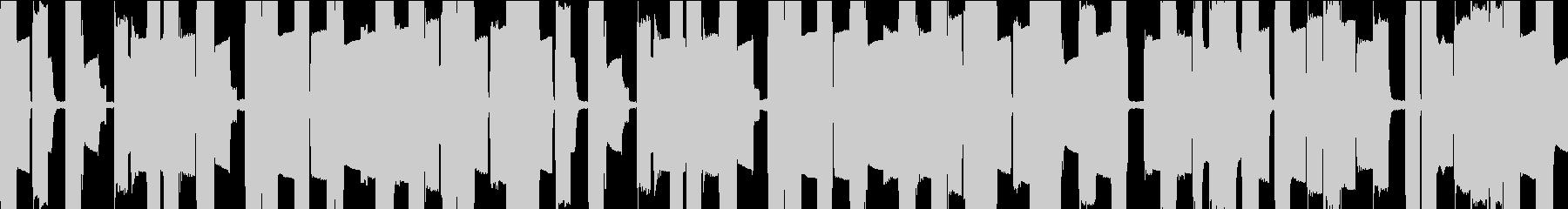 ピコピコとした8bitサウンド(ループ)の未再生の波形