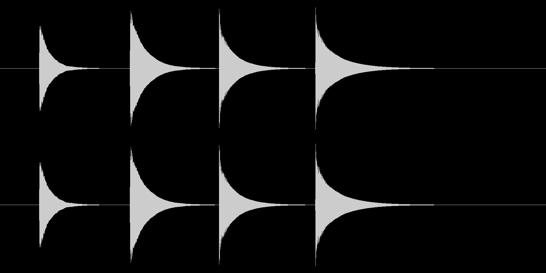 チャイム アナウンス08-2(4点 速いの未再生の波形