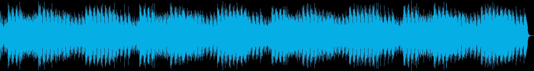 暖かい雰囲気のチルアウトの再生済みの波形