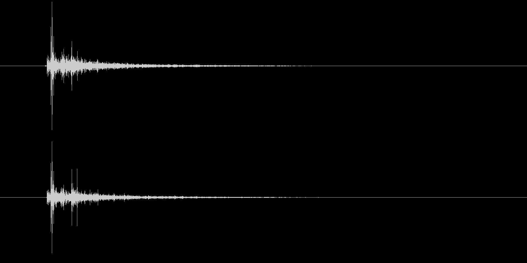 電気スパーク:大きなスナップ、電気...の未再生の波形