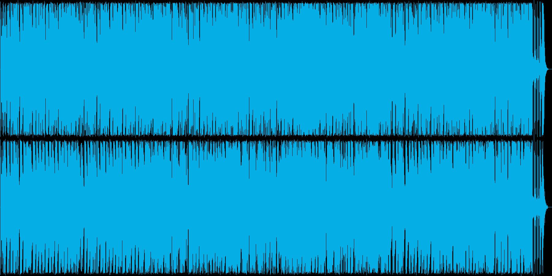 軽やかなブルース調のギターサウンドの再生済みの波形