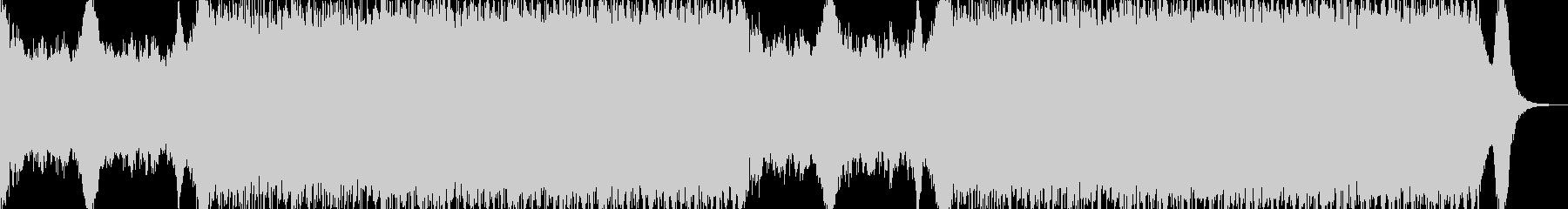 重厚な雰囲気のトレーラーオーケストラの未再生の波形