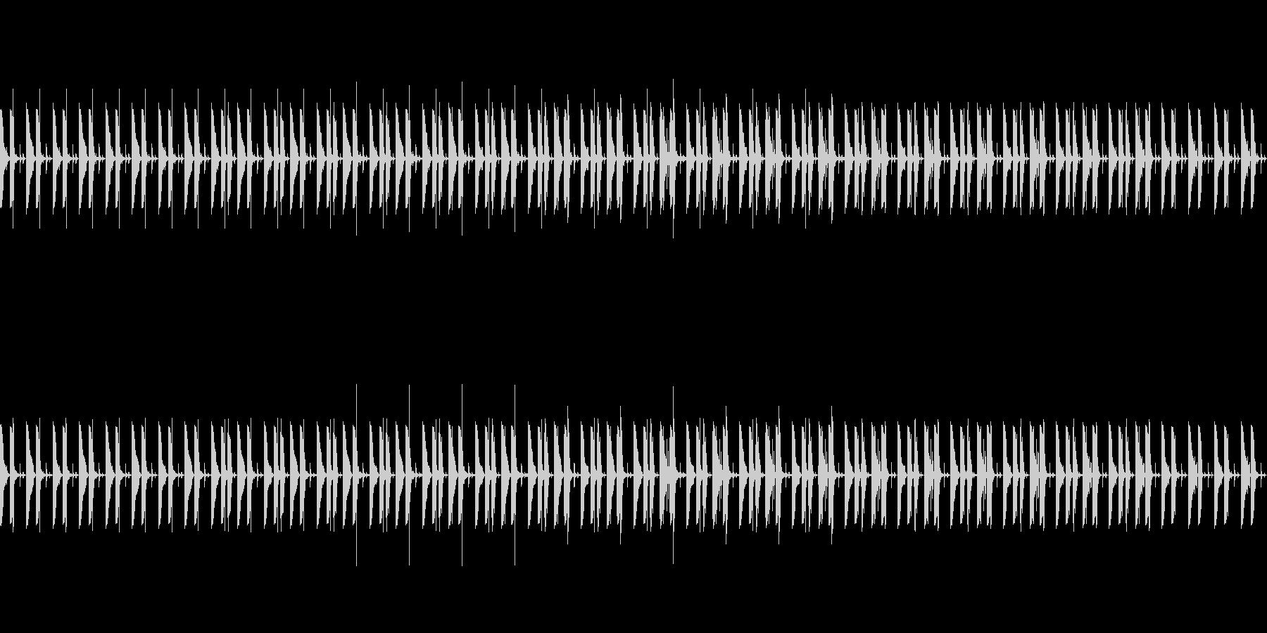 忍びこむドラムループ01の未再生の波形