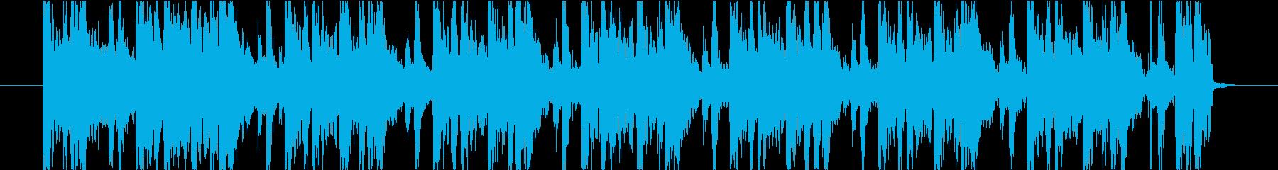 15秒CM向け!アガる!ノリノリサウンドの再生済みの波形