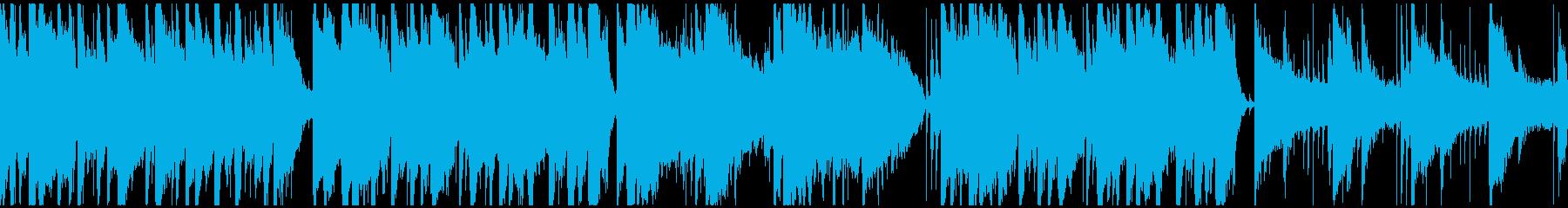 暖かみのあるマンドリンのフォークソングの再生済みの波形