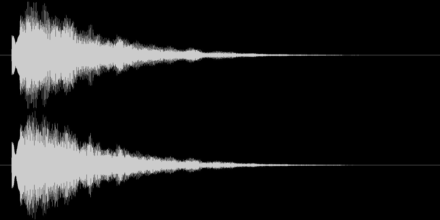 ティリローンの未再生の波形