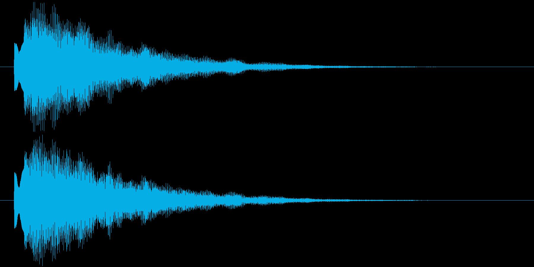 ティリローンの再生済みの波形