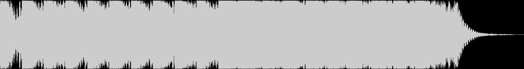 近未来/不気味/ダーク/無機質/ホラーの未再生の波形