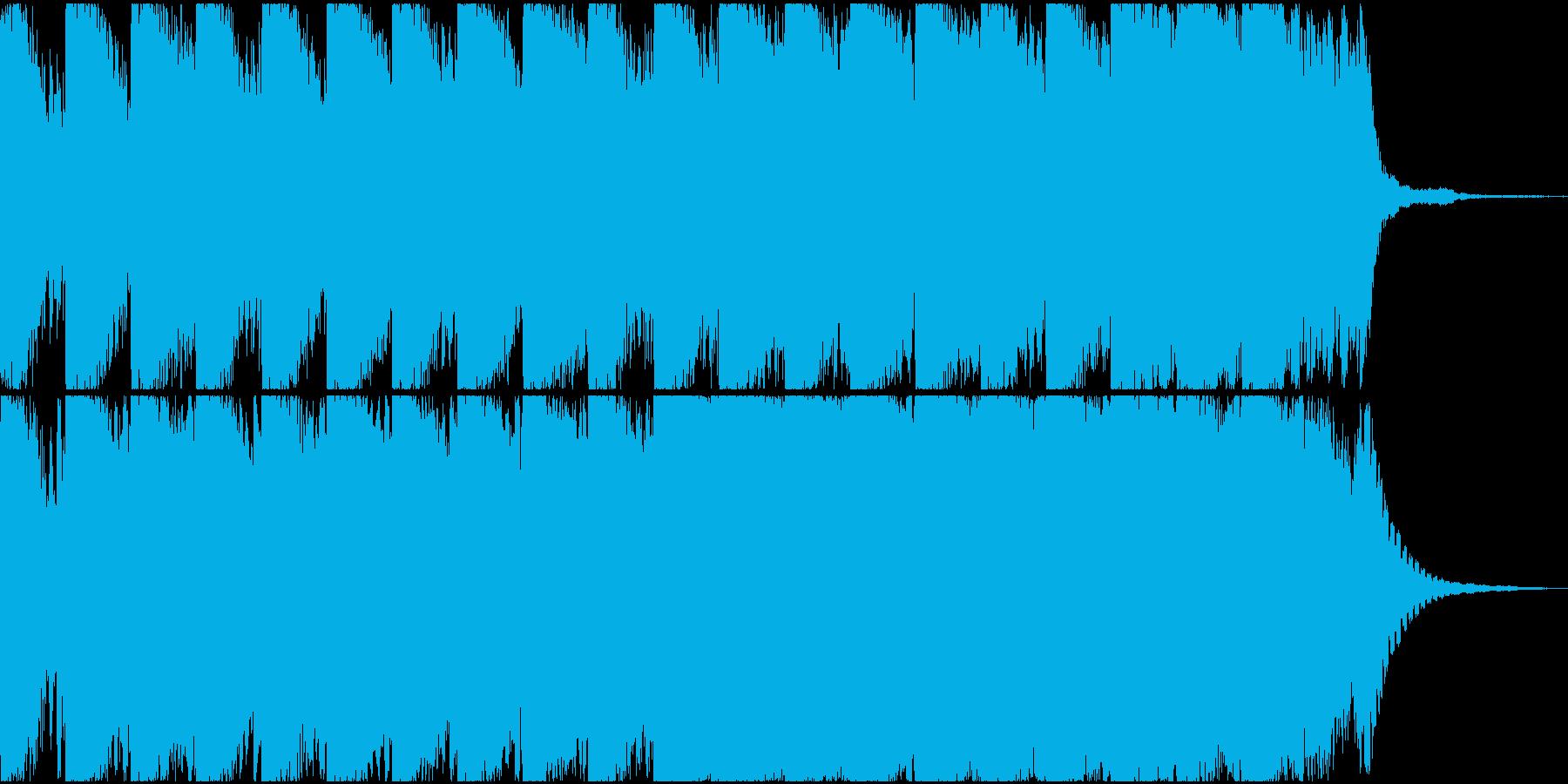 近未来/不気味/ダーク/無機質/ホラーの再生済みの波形