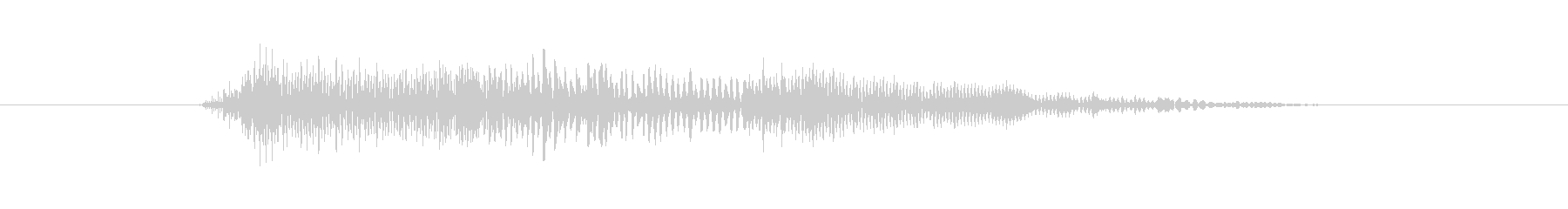 鳴き声 男性のうめき深い痛みの短い02の未再生の波形