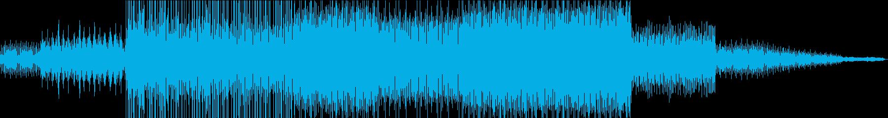 重厚で美しいポストロックの再生済みの波形