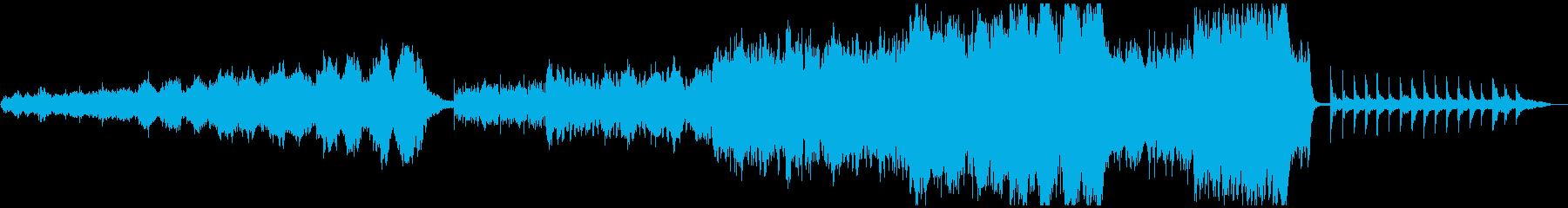 北欧風 オーケストラ アンビエントの再生済みの波形