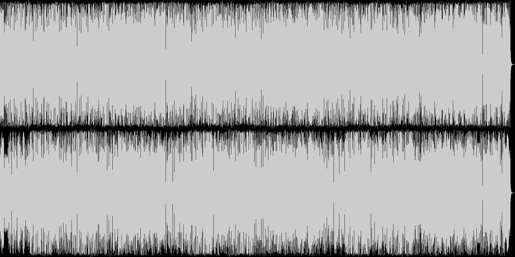 きらきらしたシンセサイザーポップの未再生の波形