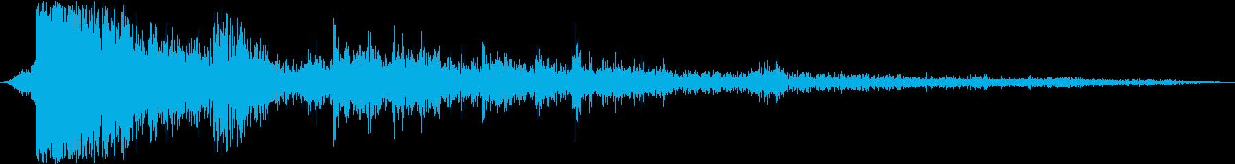 BIG BOOMING THUND...の再生済みの波形