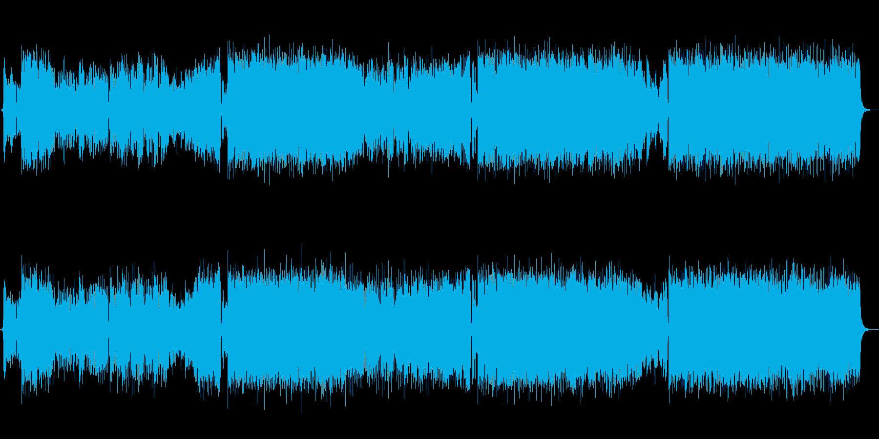 尺八が謳う和風ロックの再生済みの波形