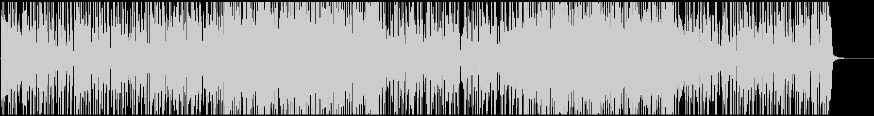 ブルージーな感じのファンクの未再生の波形