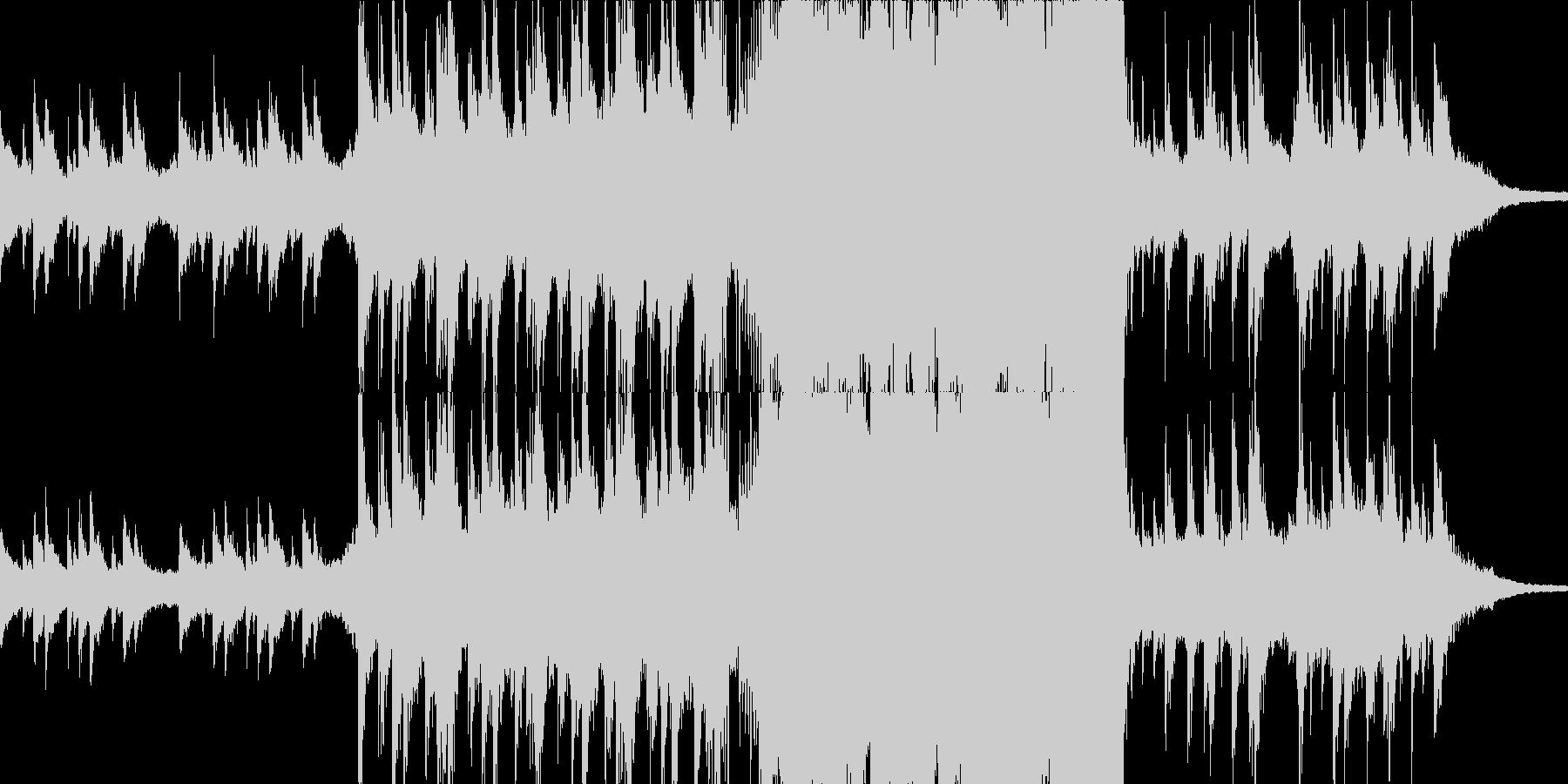 現代の交響曲 劇的な 感情的 バラ...の未再生の波形