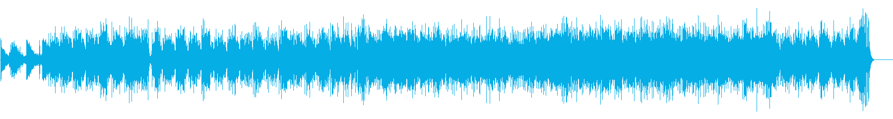 クールなサマー・ミュージック(ボサノバ)の再生済みの波形