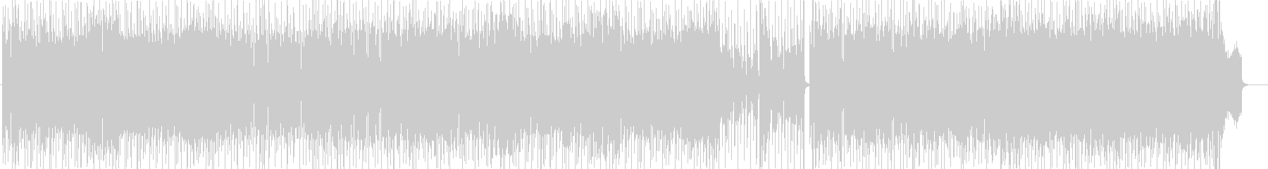 シーケンスの手法が楽しいフュージョンの未再生の波形