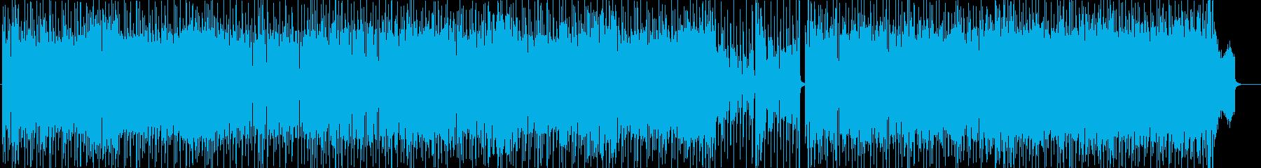 シーケンスの手法が楽しいフュージョンの再生済みの波形