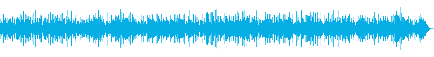 BGM|穏やかで温かい雰囲気のあるジャズの再生済みの波形