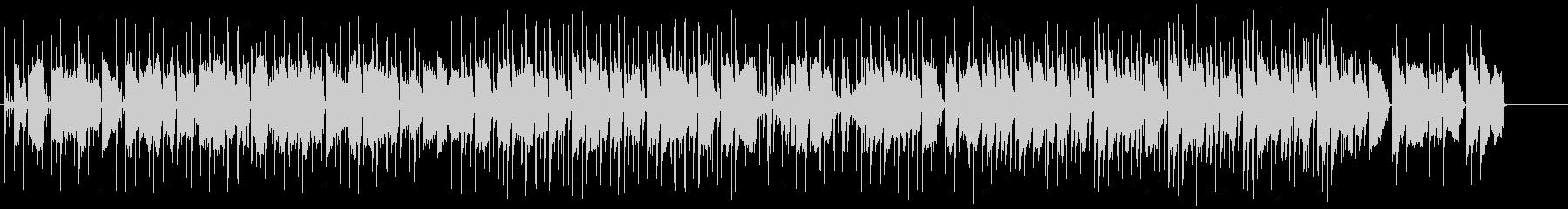 ピアノが印象的なローファイヒップホップの未再生の波形