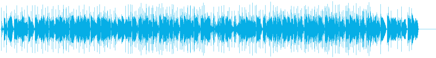 ピアノが印象的なローファイヒップホップの再生済みの波形