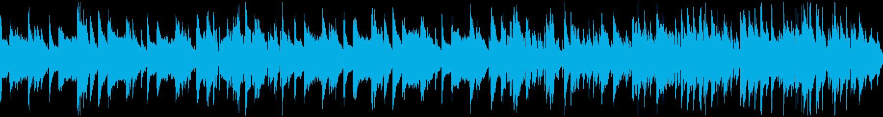 ハードボイルド、隠密スパイ系 ※ループ版の再生済みの波形