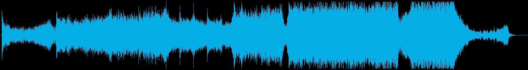 壮大でヒロイックなエピックロック曲の再生済みの波形
