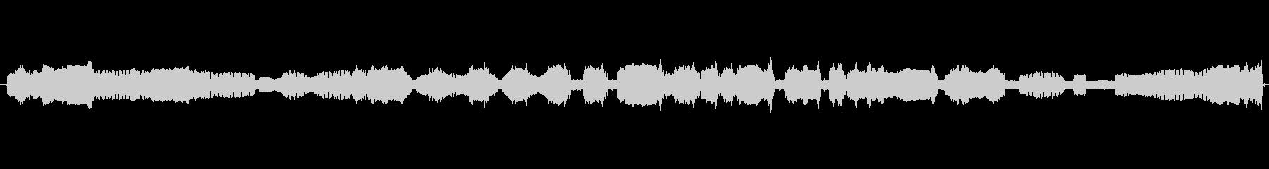 家庭 カミソリクラッターロング03の未再生の波形