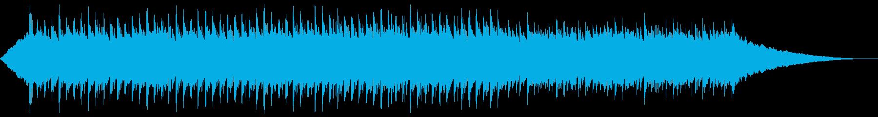 60秒,企業VP、コーポレート、元気な曲の再生済みの波形