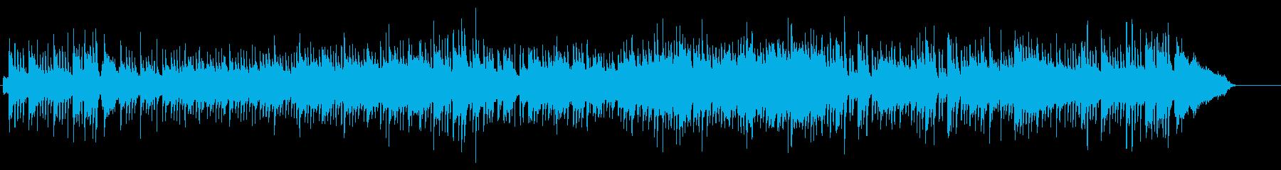 スタイリッシュなイージー・リスニング風の再生済みの波形