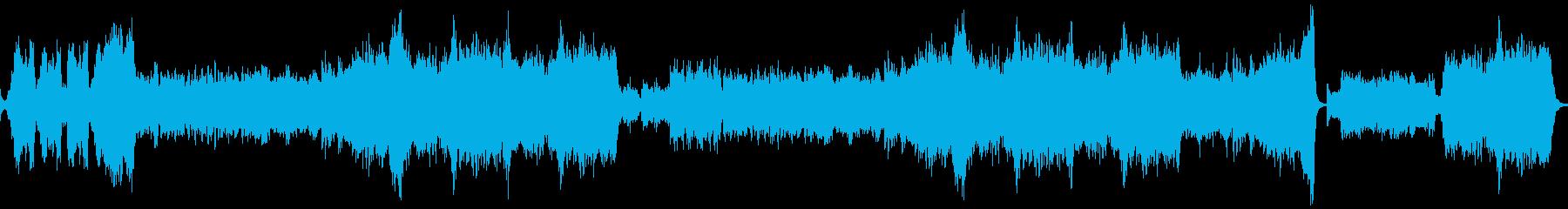 勇ましいオーケストラ(民族調風)の再生済みの波形