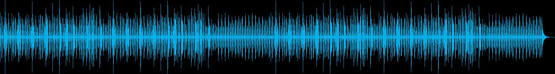 会話・トーク・かわいい・ピアノソロの再生済みの波形