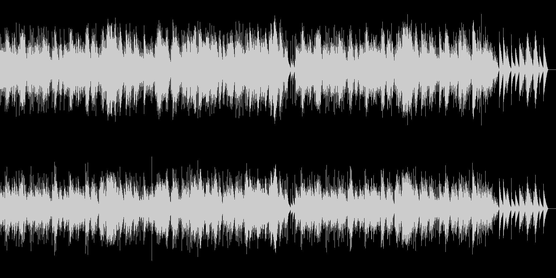 マスネ タイスの瞑想曲 (オルゴール)の未再生の波形
