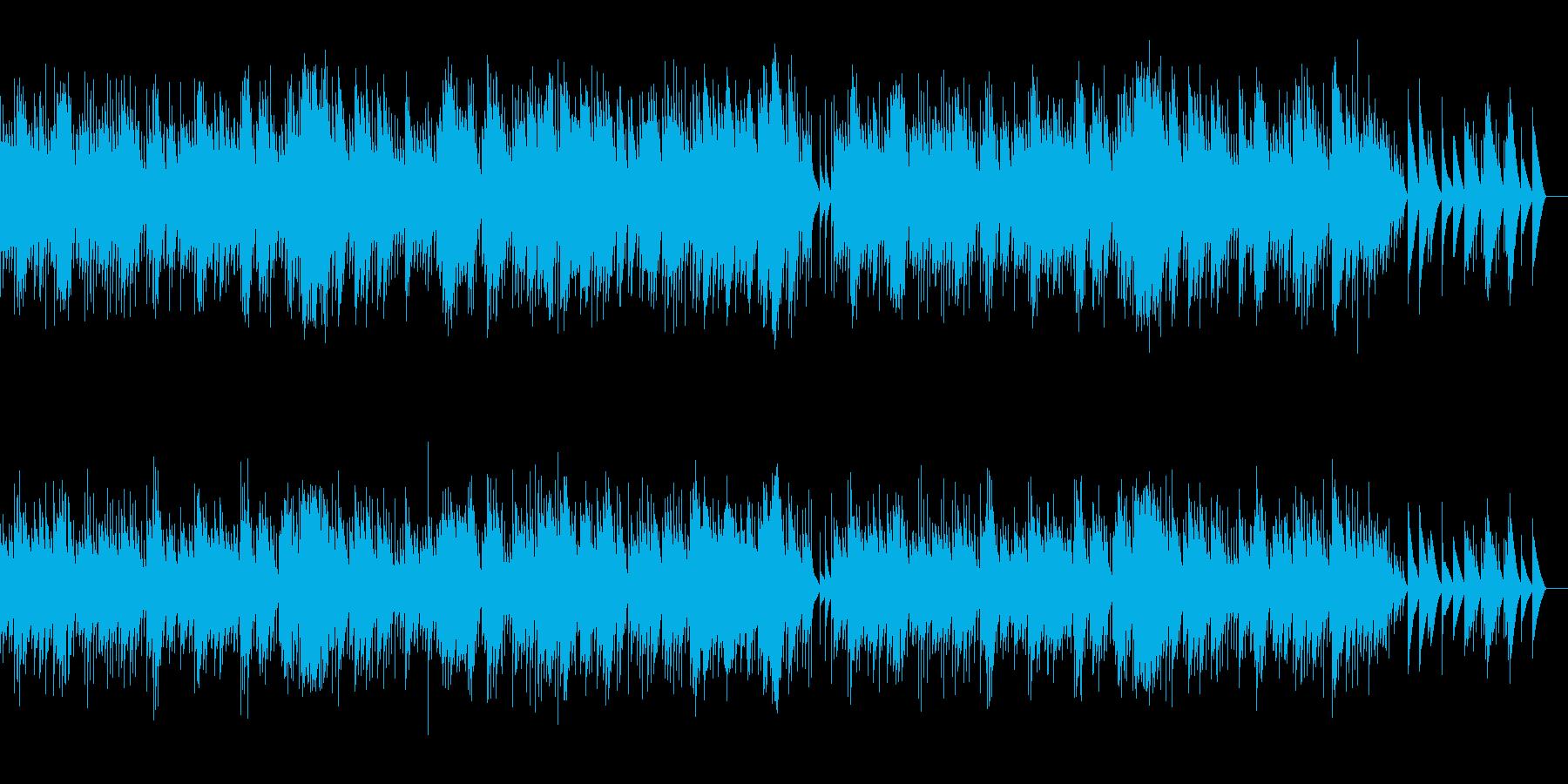 マスネ タイスの瞑想曲 (オルゴール)の再生済みの波形