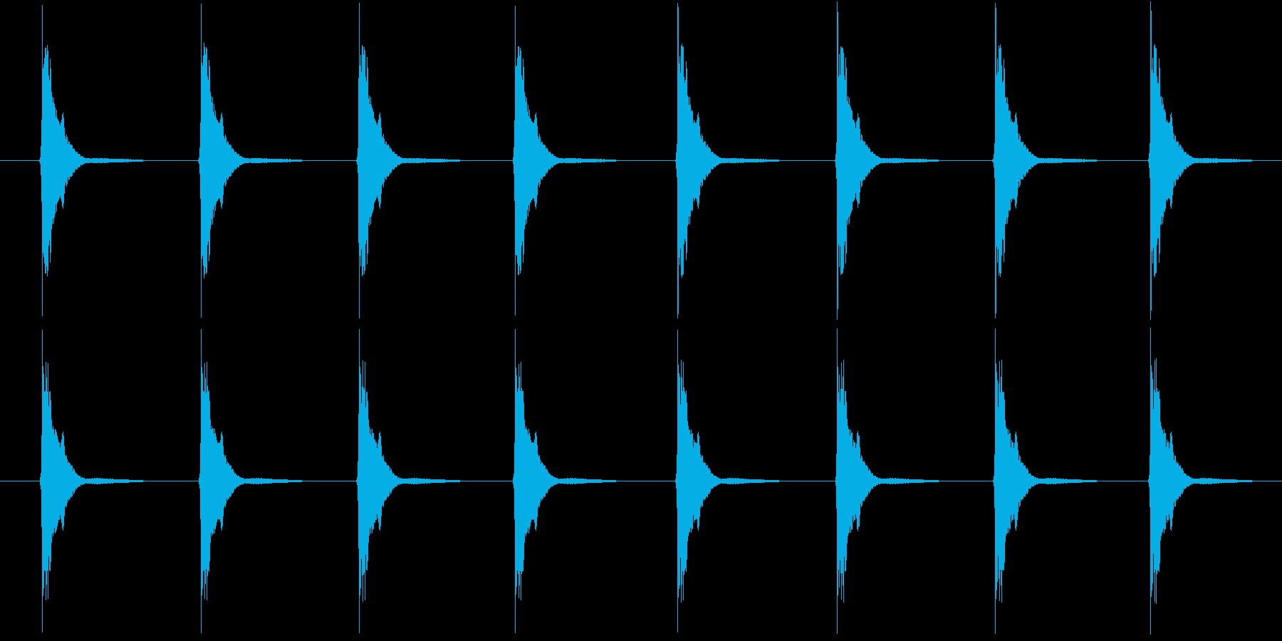 刀鍛冶 ハンマーの再生済みの波形