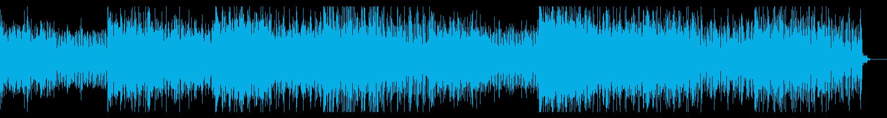 ノイジーなテクスチャIDMの再生済みの波形