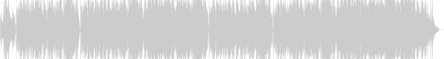 ピアノ主体のクラシックアレンジトラック の未再生の波形