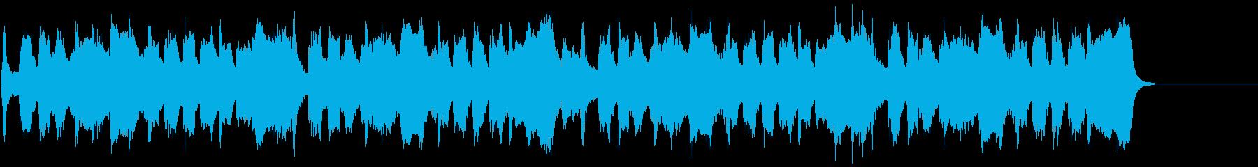 動画広告 30秒 トロンボーン 楽しいの再生済みの波形