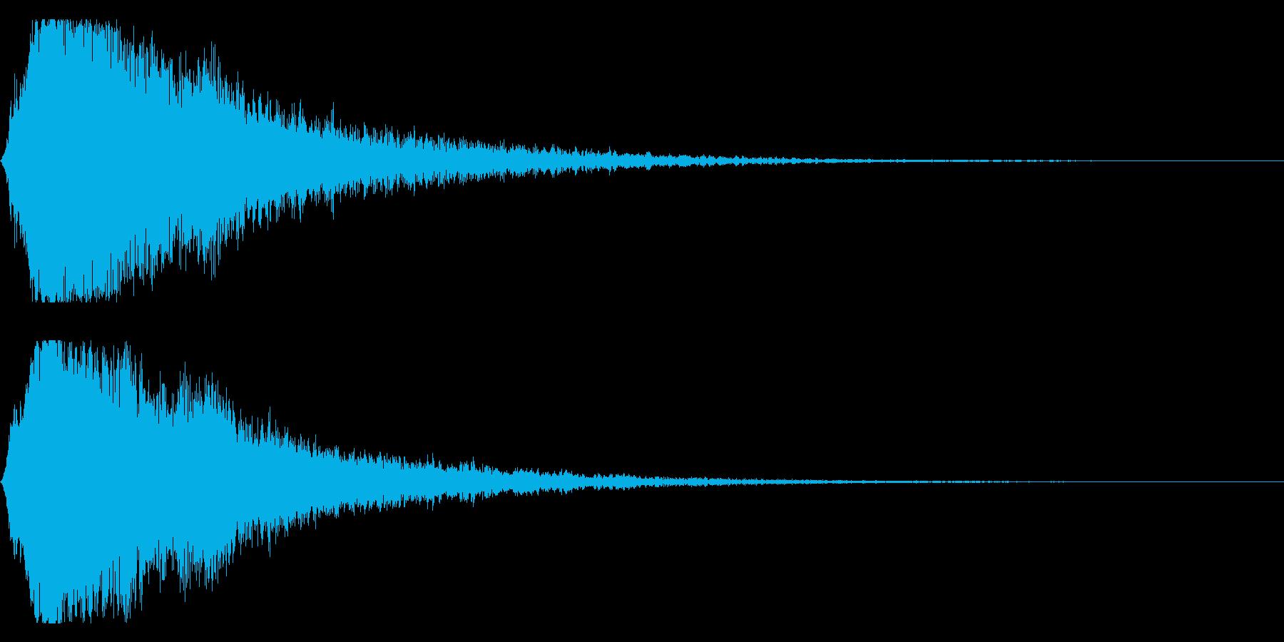 シャキーン キラーン☆強烈な輝きに!7vの再生済みの波形