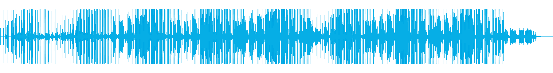 おしゃれでちょっぴり切ない癒しチルアウトの再生済みの波形