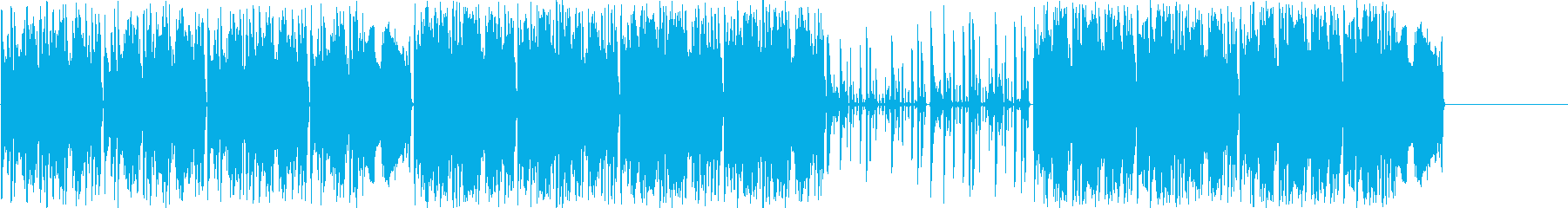 メカニカルグルーブと「バブリー」ベ...の再生済みの波形