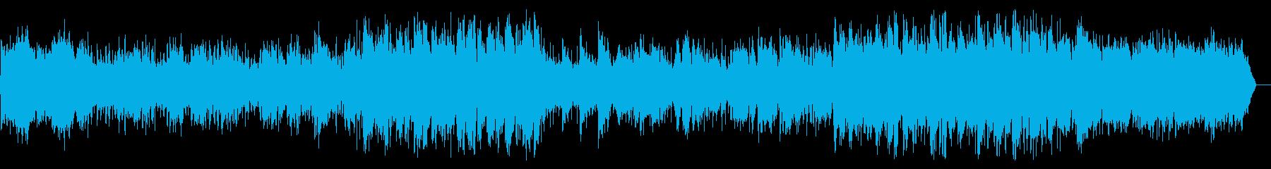 ノスタルジックで夢心地なお洒落ソングの再生済みの波形