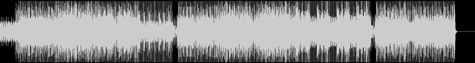 アラビア風、ピアノメインのテクノポップの未再生の波形