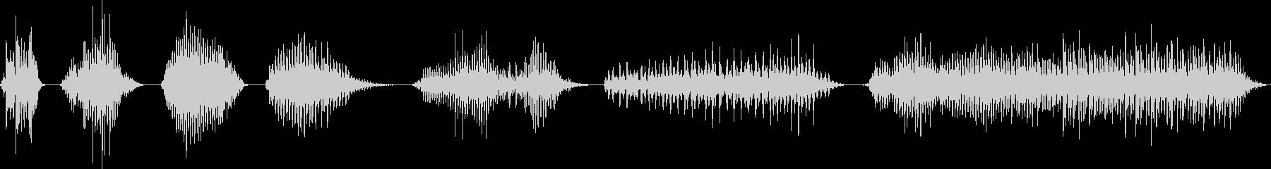 メタル、ゴング、リッド、スピン、ロ...の未再生の波形